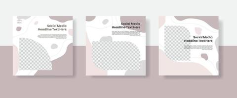 Culinary social media post template banner