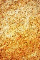 piedra manchada de naranja