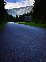 Road to the high mountains photo