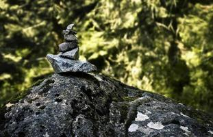 Stack of rocks photo