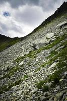 Rocky mountainside during the day photo
