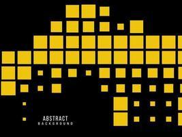Abstract geometric yellow modern decorative design pattern background