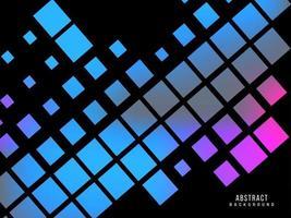 Abstract geometric elegant modern dynamic blue pattern background vector