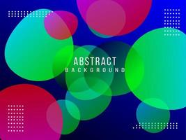 Abstract geometric circular elegant bright pattern design background vector