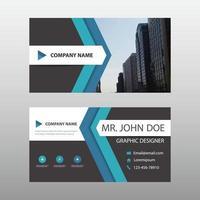 Modern Business Card Template Design vector