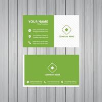 Business Visiting Card Template Design vector