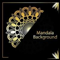 Creative mandala design pattern vector