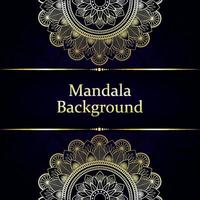 Luxury mandala background with arabic style and pattern vector