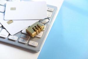 concepto de seguridad de la información de privacidad de datos de Internet