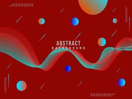 Abstract geometric elegant shiny fluid pattern background vector