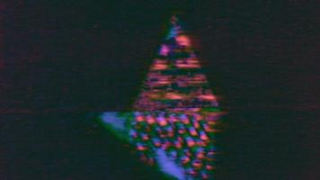 The Noise of A Television or VHS Glitch