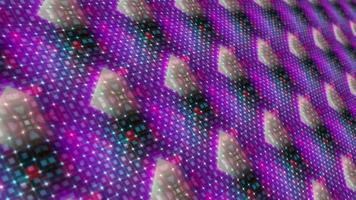 Digital Futuristic 10 Seconds Countdown Matrix Style Loop