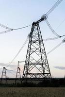 High-voltage power line