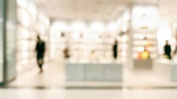Defocused Blur Bokeh Shopping Lifestyle Department Store Background