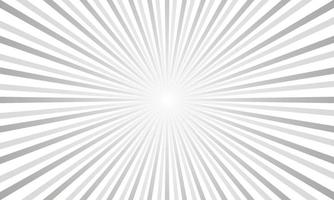 Fondo de rayos grises abstractos vector