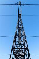 línea de alta tensión foto