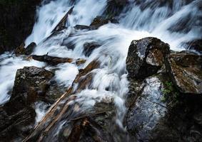 Detail of a wild stream photo
