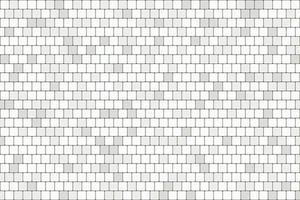 Abstract white and gray square brick wall pattern artwork background. illustration vector eps10