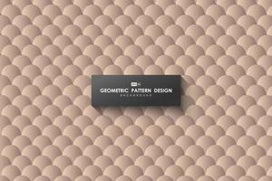 Abstract brown circle pattern tech design of artwork decorative background. illustration vector eps10