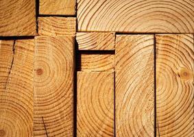 Detail of cut wood