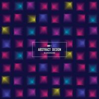 Abstract minimal colorful of science tech square vivid background. illustration vector eps10