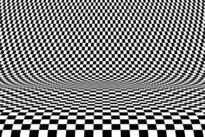 Abstract square op art pattern decorative design of mesh background. illustration vector eps10
