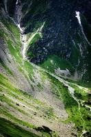 Hillside in the mountains photo