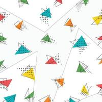 Abstract triangle pattern artwork design background. illustration vector eps10