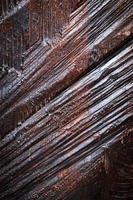 ranuras en madera foto