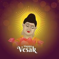 Mahavir jayanti celebration greeting card with illustration and background vector