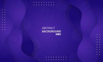 Abstract liquid background with purple gradient color. Dynamic textured background design. eps 10 vector