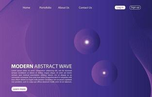 Landing Page. Abstract background website. Template for websites, or apps. Modern design. Abstract vector style design