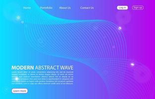 página de destino. sitio web de fondo abstracto. plantilla para sitios web o aplicaciones. diseño moderno. diseño de estilo vectorial abstracto vector