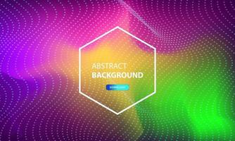 abstract particle flow background with dots combination. Dynamic abstract liquid particles background. vector