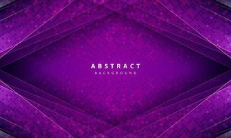 Modern abstract  purple background vector. Layout design with dynamic shapes vector