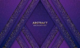 Fondo azul oscuro futurista abstracto con brillo. Telón de fondo 3d. ilustración vectorial realista. vector
