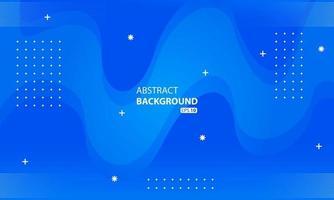 Fondo de color líquido azul abstracto Fondo geométrico ondulado. vector