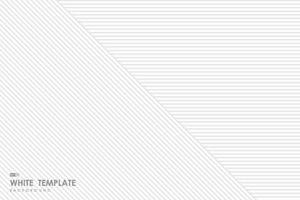 Abstract gradient white line pattern template design background. illustration vector eps10