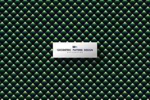 Abstract green triangle pattern design of modern artwork background. illustration vector eps10
