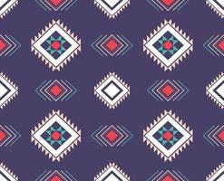 Geometric ethnic pattern traditional Design for background, carpet, wallpaper, clothing, wrapping, batik, fabric, sarong vector