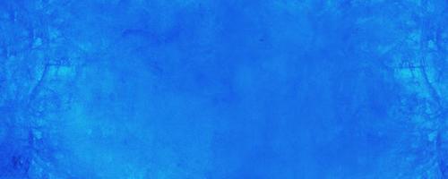 Horizontal dark blue texture cement wall background photo