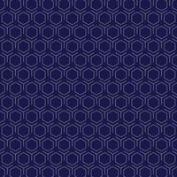 Abstract retro white hexagon pattern design on purple background. illustration vector eps10
