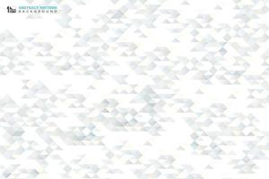 Abstract small triangle pattern decoration design background. illustration vector eps10