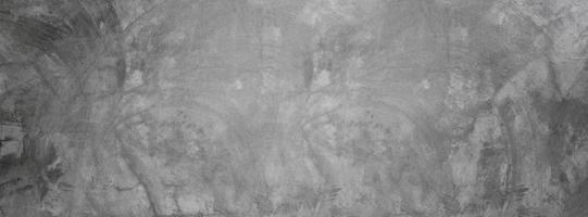 Pared de textura de cemento sucio, fondo de banner de hormigón gris para telón de fondo foto