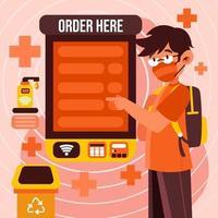 la nueva tecnología de orden de servicio vector