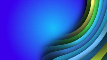 fundo animado de listras coloridas psicodélicas girando