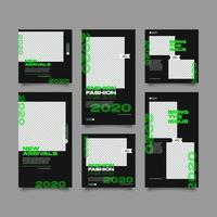 Social media dyanmic urban post bundle kit template
