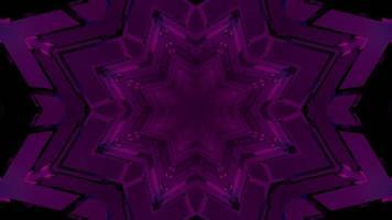 Ilustración 3 d de túnel móvil con adorno simétrico