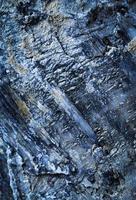 Detalle de rocas grises con cuarzo foto