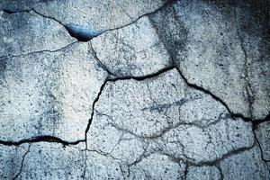 Cracked old stone photo